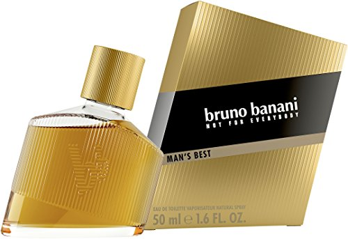 bruno banani Man's Best – Eau de Toilette Herren Parfüm Natural Spray – Eleganter, maskuliner Premiumduft für Männer – 1er Pack (1 x 50ml) von Bruno Banani Fragrance
