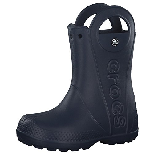 Crocs Handle It Rain Boot, Unisex - Kinder Gummistiefel, Blau (Navy), 27/28 EU27/28 EU von crocs
