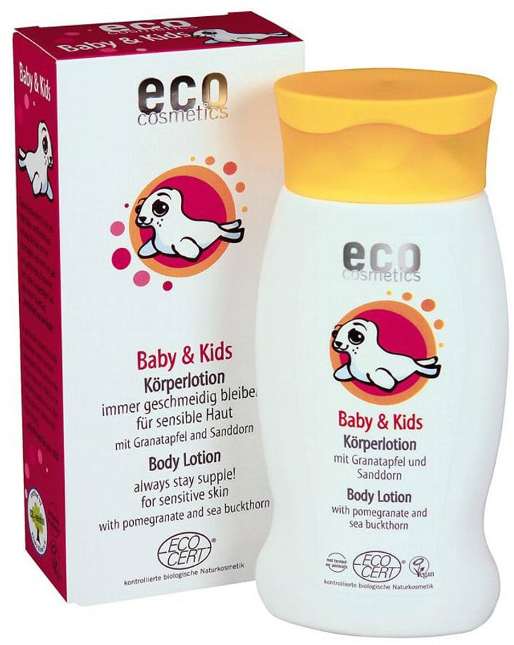 eco cosmetics Baby Körperlotion - 200 ml von eco cosmetics