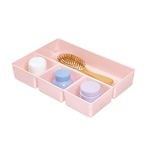 iDesign Kosmetik-Organizer 4 Abschnitte Set of 1 blush von iDesign