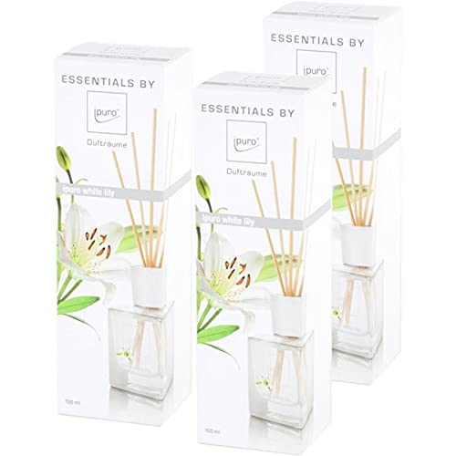 Essentials by Ipuro White Lily 100ml (3er Pack) von ipuro