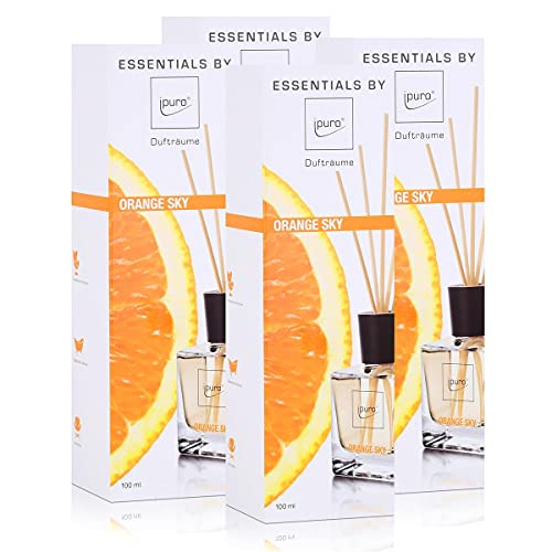 Essentials by Ipuro orange sky 100ml Raumduft Dufträume (4er Pack) von ipuro