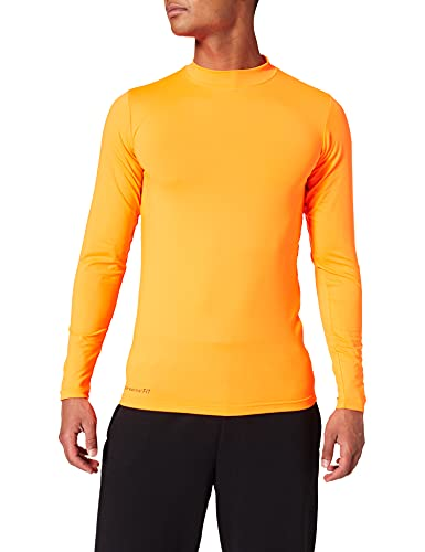 uhlsport Funktionsshirt LA Herren Shirt, Fluo orange, XS von uhlsport